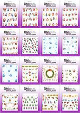 Weihnachten X-Mas Nikolaus Winter Schnee Christmas Nail Art Sticker Nageldesign