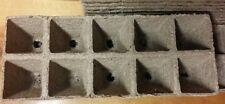 Jiffy Peat Strip 516 . .Biodegradable seed starting pots. No transplant damage.