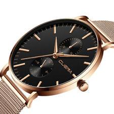 Men's Watches Classic Luxury Brand Stainless Steel Strap Quartz Date Wrist Watch