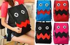 Monster Backpack Black Red Blue Pink Rucksack School Boy Girl Bag Schoolbag NEW