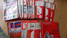Wigan de la Liga de Rugby programas Casa 1970 - 1979 elegir artículos individuales