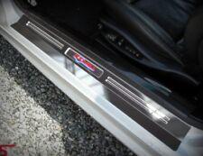 FÜR BMW E36 COMPACT * BELEUCHTETE EDELSTAHL EINSTIEGSLEISTEN MIT WUNSCHGRAVUR