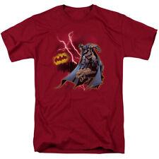 Batman Lightning Strikes T-shirts for Men Women or Kids