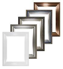BUCAREST Gamme Large cadre Cadre Photo Cadre photo décor couleurs Blanc Argent