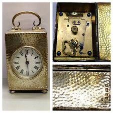Antike Tischuhr Uhr 925er Sterlingsilber Silberuhr Taschenuhr