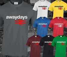 Away Days Mens T Shirt Top Football Hooligan Trimm Trab Casuals Terraces Cool