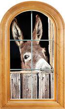 Sticker window vaulted trompe l'oeil the eye deco Ane ref 644
