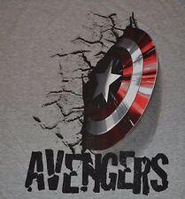 MARVEL Comics Captain America Shield T-Shirt Tee Avengers Officially Licensed