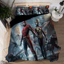 Ant-Man 3D Design Bedding Set 3PC Of Duvet Cover Pillowcase Single Double King