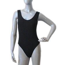 Black Leotard.Ballet Gymnastic Dance Wear Age 6-7,8-9,10-11,12-13 Years.UK.Lined