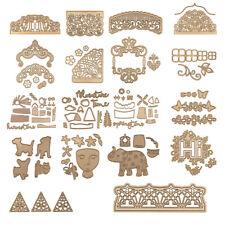 Elephant Metal Cutting Dies Stencil DIY Scrapbooking Paper Card Crafts Embossing