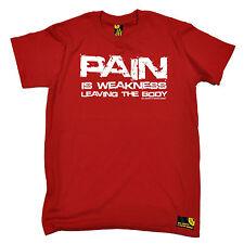 Dolore è debolezza di lasciare il corpo da uomo swps T-shirt di formazione Regalo di Natale
