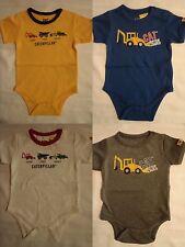 CATERPILLAR Cat Baby Boys 12 18 or 24 Month Short Sleeve Bodysuit Choice NWT