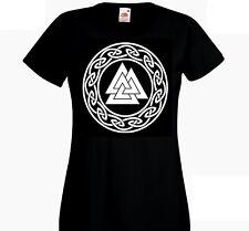 Viking Valknut T Shirt Lady-Fit