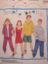 McCALLS 7687 Girls/Boys Jacket Top Shirt Pants & Shorts PATTERN 7-8-10-12-14 UC