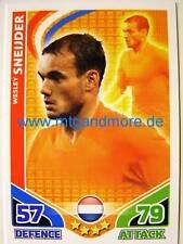Match Attax World Stars - Wesley Sneijder - Niederlande