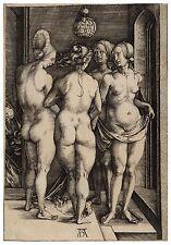 Vier nackte Frauen (Die vier Hexen) Albrecht Dürer Papier/Leinwand