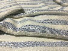 New Beautiful Classy Designer Multicolored Stripe Lurex Boucle Fabric Material