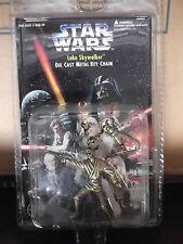 1996 STAR WARS Luke Skywalker Die Cast Metal Key Chain (Placo Toys)