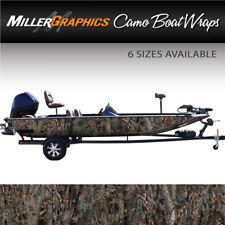 "Camo Boat Wrap Kit ""Oak Ambush"" 3M Cast Vinyl - 6 Sizes Available"