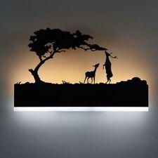 Modern LED Wall Lamp Creative Bedroom Beside Iron Acrylic Material Night Light