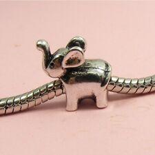ELEPHANT/ HORSE/ MICKEY/ BEAR/ SNAKE Bead CHARM fits European Bracelet ~PICK~