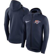 Authentic Nike Oklahoma City Thunder Mens NBA Showtime Therma Flex Hoodie