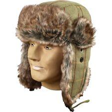 Jack Pyke Wool Blend Trapper Hat Tweed Hunters Countryman Acrylic fur & Lining