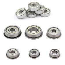 F623/F624/F604/F625/F684/F688ZZ Flanged Metal Ball Bearing For CNC 3D Printer