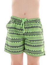 Brunotti Boardshort Coldio Pantalones de natación verde Patrón Mallas