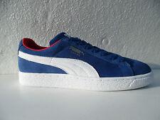 NEU PUMA Suede Classic Cat Herren Sneaker Turnschuhe Blau Blue  Gr. 44  45  UK10