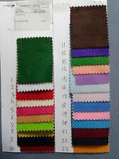 PANNO LENCI PANNOLENCI TESSUTO 1m x 1,9m TINTA UNITA Scegli il Colore in Tabella