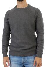 Shine Pullover Men - 80114 - Dark Grey Melange