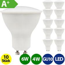 10 Stück GU10 LED Strahler Spot 4W 6W warmweiß neutralweiß kaltweiß