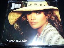 Jennifer Lopez - J.LO - I'm Gonna Be Alright Australian 4 Track CD Single