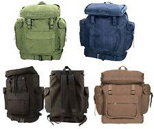 European Style Rucksacks - Canvas Backpack Schoolbag Camping Hiking Outdoor Bags