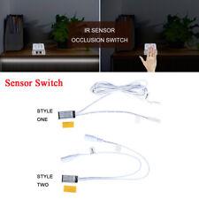 Occlusion gate Sensor Hand Wave Sensor Switch for LED Strip Cabinet 12V-24V DC