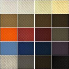Kunstleder Leder PVC PKW Polsterstoff gesteppt 2x2cm Raute in 20 Farben