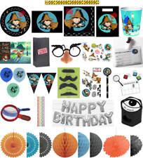Kindergeburtstag Geburtstag Party Fete Feier Motto Detektiv Flo