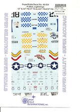 Superscale Decal 48-934 P-38J/L Lightning