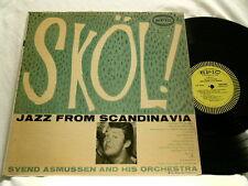 SVEND ASMUSSEN Skol Jazz From Scandanavia Epic 3210 mono dg LP