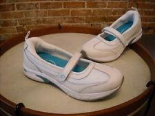 POE Power of Essentials Grace White & Turquoise Maryjane Tennis Shoe New