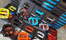 "DMR V12 pedali (Nuovo) 9/16"" FLAT piattaforma Mountain Bike BMX cuscinetti sigillati ()"
