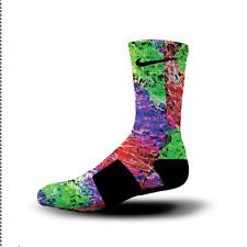 Custom Nike Elite Socks All Sizes NERF