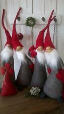 HOME KONTOR XMAS Wichtel mit Sack XL 6 zur Wahl Weihnachten 50cm Filz grau rot