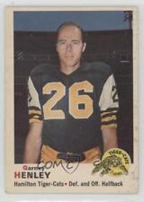 1970 O-Pee-Chee CFL #16 Garney Henley Hamilton Tiger-Cats (CFL) Football Card