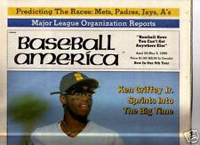 Ken Griffey, Jr. Baseball America 4/25/89 Mint no label