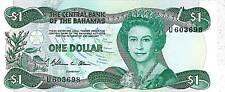 CARTAMONETA - BANCONOTTA - PAPERMONEY: BAHAMAS $1 n°43