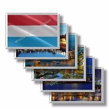 LU - Lussemburgo - frigo calamite frigorifero souvenir magneti