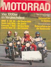 Motorrad 6 77 R100RS Gold Wing Laverda 1000 3C Z 1000 MV Agusta 125 S Puch 1978